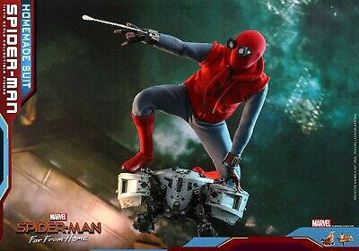 $ CDN324.86 • Buy Hot Toys MMS 552 Spider-Man: Far From Home (Homemade Suit) 1/6 Figure