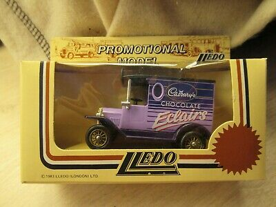 £0.20 • Buy Lledo 'Cadbury's Chocolate Eclairs' Vintage Van (promo Model) Boxed