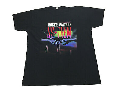 £16.12 • Buy Pink Floyd Roger Waters US + Them Tour 2017 T-Shirt Men's XL *Band Tee Rock