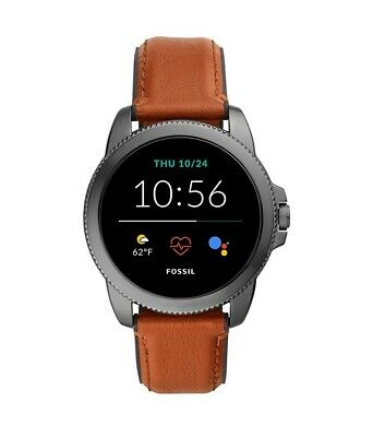 AU379 • Buy Fossil Gen 5e Digital Smart Watch With Leather Band