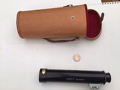 £11.99 • Buy Vintage Orbit 30x30 Mm Table Top Telescope With Case TJK Japan Spares And Repair