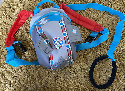 Baby Toddler Space Rocket Backpack Reins Harness Safety Strap • 1.99£