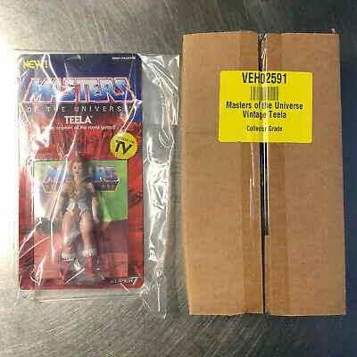 $14.99 • Buy Super7 MOTU Masters Of The Universe Vintage Teela BBTS Collector Grade MIB