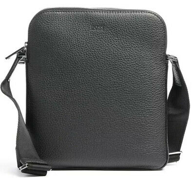 Hugo Boss Crossbody Bag Black Leather - NEW & TAGS • 48£
