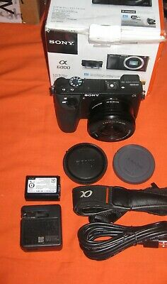 $ CDN908.65 • Buy Sony Alpha A6500 Camera, 16-50 Power Zoom Lens & More, Low Shutter Count 6326