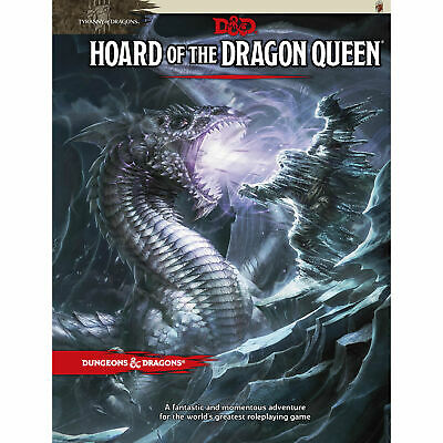 AU38.50 • Buy Dungeons & Dragons Hoard Of The Dragon Queen 5th Edition