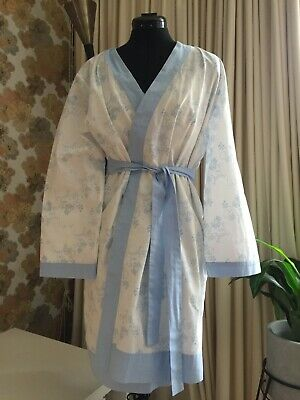 AU25 • Buy Matching Cotton Nighty And Pretty Kimono Dressing Gown Lingerie Sleepwear Set