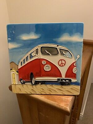 £12 • Buy VW Camper Van Hand Crafter Wall Art Brand New