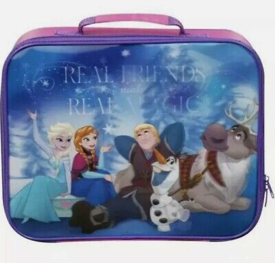 £10.50 • Buy Childrens Disney Frozen 3D Lenticular Suitcase 35 X 29 Cm New With Tag