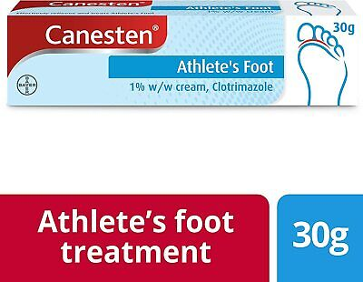 £4.99 • Buy Canesten Dual Action Anti-Fungal Cream - 30g - Treatment Athletes Foot Jock Itch