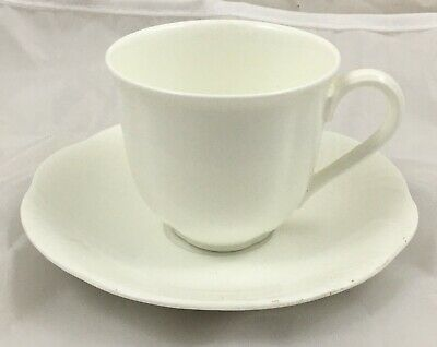 £32.99 • Buy Villeroy & And Boch ARCO WEISS White Espresso / Mocha Cup And Saucer UNUSED