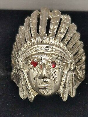 £53.24 • Buy Indian Head 925 Silver Ring
