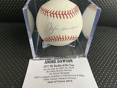 $ CDN1.20 • Buy Andre Dawson Autographed Signed Baseball MLB Tristar Authenticated
