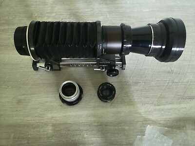 AU1.79 • Buy SONY E MOUNT ADAPTED X 3 Lens & Bellows Clean