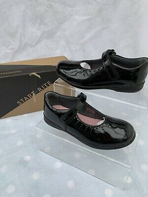 £17 • Buy Girls Startrite Mary Jane Black Patent Leather School Shoes Size 13.5H