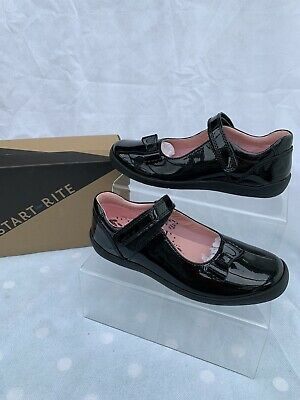 £17 • Buy Girls Startrite Giggle Black Patent School Shoes Size 3.5G