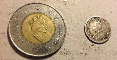 £3 • Buy 2- Canadian Coins / 1913 10 Cents / 1996  2 Dollars