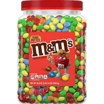 $24.48 • Buy M&M's Peanut Butter Chocolate Candies Pantry-Size, 55 Ounces HIGH QUALITY