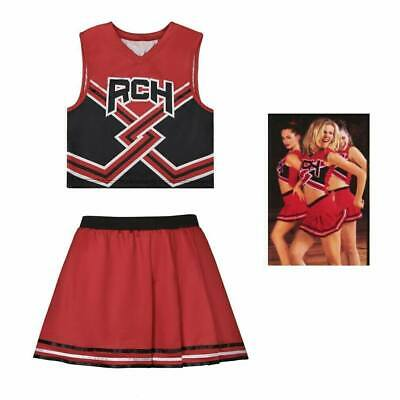 $ CDN44.87 • Buy Women's Cheerleaders Dress Movie Bring It On Cosplay Costume Halloween Outfits