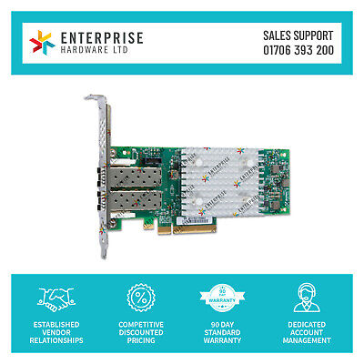 $ CDN797.44 • Buy Q0L14A REF HPE StoreFabric SN1200E 16Gb Dual Port Fibre Channel Host Bus Adapter