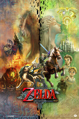 $10.99 • Buy The Legend Of Zelda Twilight Princess HD Collage Video Gaming Poster 12x18 Inch