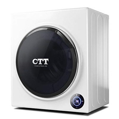 View Details CTT 13 Lbs. Capacity/3.5 Cu.Ft. Intelligent Compact Portable Tumble Clothes - • 597.18$