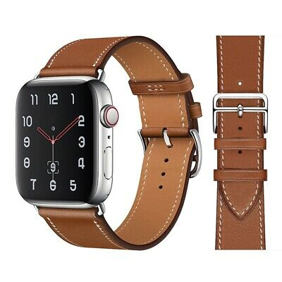 $ CDN7.25 • Buy High Quality Leather Loop Band For IWatch 38-40mm & 42-44mm Series 2 3 4 5 6 SE