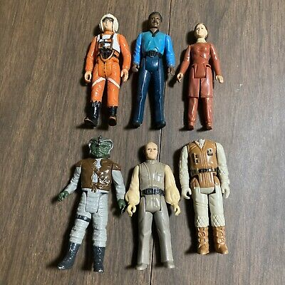 $ CDN32.74 • Buy Vintage Lot Of 6 1980's LFL Star Wars Action Figures Preowned 1970's Leia