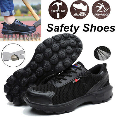 $ CDN42.63 • Buy Men's Work Safety Shoes Steel Toe Bulletproof TPR Boots Lightweight Sneakers D