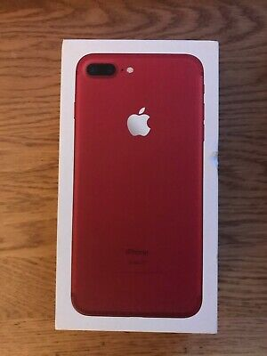 AU222.50 • Buy Apple IPhone 7 Plus (PRODUCT)RED - 128GB - (Unlocked) A1784 (GSM) (AU Stock)