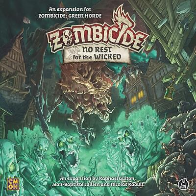 AU84.98 • Buy Zombicide: Green Horde - No Rest For The Wicked Board Game - CMON Free Shipping!