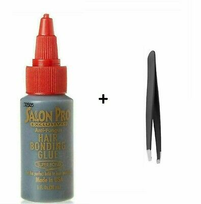 £4.80 • Buy Salon Pro Semi-Permanent Individual Eyelash Adhesive Black Glue 30ml * UK * Glue
