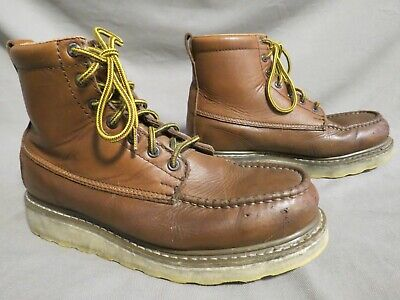 $ CDN14.56 • Buy Mens Diehard Brown Leather Hiking Farm Work Boots Us Size 9.5 D