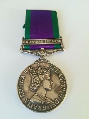 £80 • Buy Campaign Service Medal.northern Ireland Bar.corporal.royal Corps Of Transport.