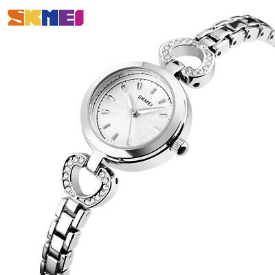 $ CDN15.61 • Buy SKMEI Women's Watch Waterproof Stainless Steel Fashion Quartz Wristwatch 1408 9