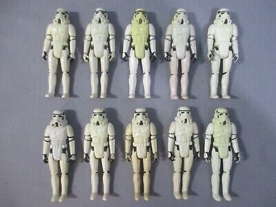 $ CDN157.70 • Buy Star Wars STORMTROOPER ARMY BUILDER Lot A New Hope Vintage 1977 Action Figure