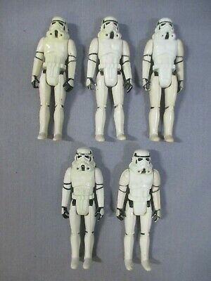 $ CDN90.97 • Buy Star Wars STORMTROOPER ARMY BUILDER Lot A New Hope Vintage 1977 Action Figure