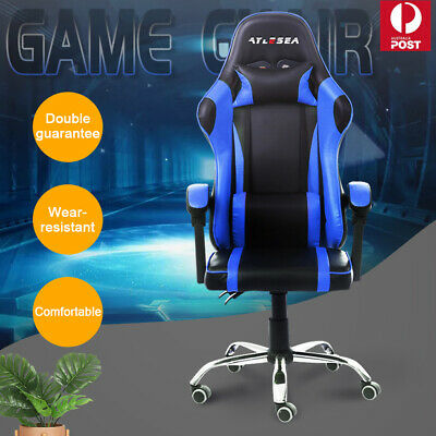 AU85.99 • Buy Gaming Chair Office Executive Computer Game Chairs Seating Racing Recliner AU