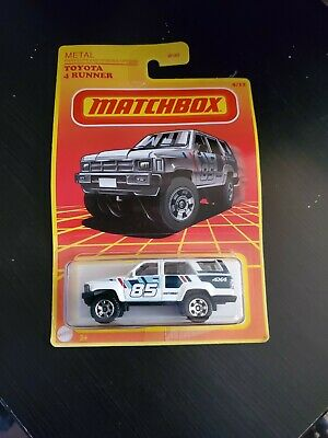 AU16.41 • Buy MATCHBOX 2021 Toyota 4Runner White 4x4 Truck MBX Metal (NEW)