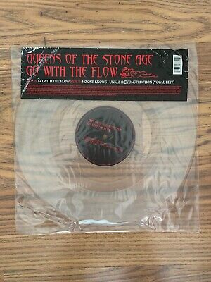 £16.99 • Buy Queens Of The Stone Age Qotsa Go With The Flow 12  Clear Vinyl Single Unkle
