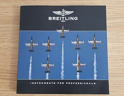 £9.99 • Buy BREITLING CHRONOLOG 2013 Catalog Catalogue Watch Brochure Mint Condition