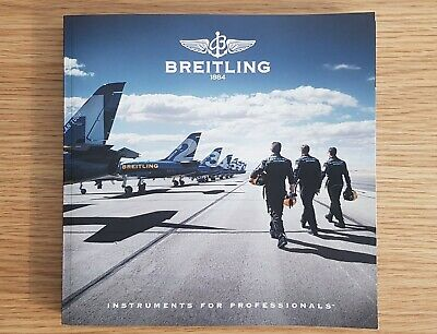 £9.99 • Buy BREITLING CHRONOLOG 2017 Catalog Catalogue Watch Brochure Mint Condition