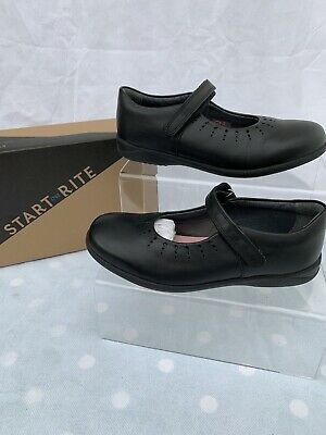 £19.49 • Buy Startrite Mary Jane Girls Black Leather School Shoes Size 1G