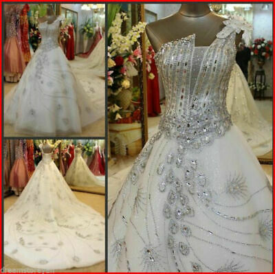 $ CDN12.09 • Buy New White/Ivory Wedding Dress Bridal Gown Custom Size2  4-14-16-28W