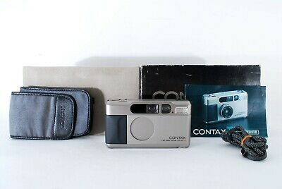 $ CDN1693.92 • Buy 🌟 Top Mint With Box🌟 Contax T2 35mm F/2.8 Point & Shoot Film Camera From Japan
