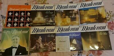 £4 • Buy The Magic Of Mantovani 7lp With Certificate Of Authenticity Fast UK Delivery