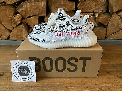 $ CDN528.40 • Buy ADIDAS YEEZY BOOST 350 V2 ZEBRA CP9654 UK 5 EU 38  BWNT 100 % Authentic
