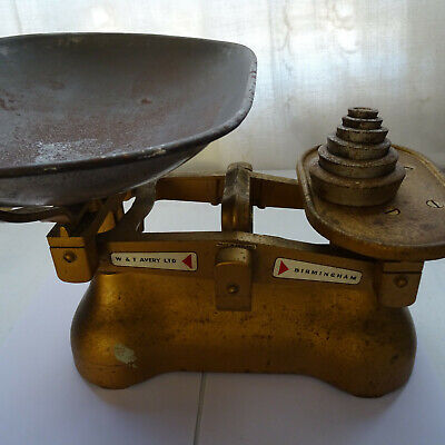 £49.99 • Buy Vintage W&T Avery Weighing Scales Birmingham Made In England