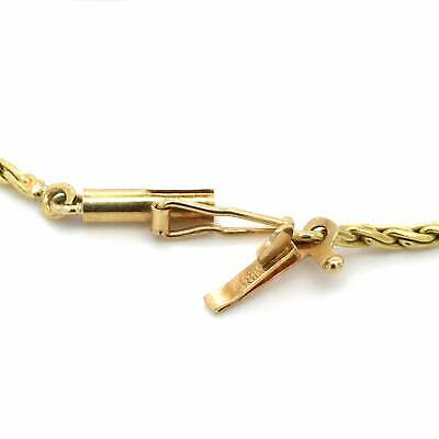 £851.79 • Buy Madeira Citrine And Diamond Halo Necklace 18k Two Tone Gold 16.5