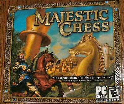 $14.77 • Buy Majestic Chess - PC CD Computer Game With Instructions In Excellent Cond.
